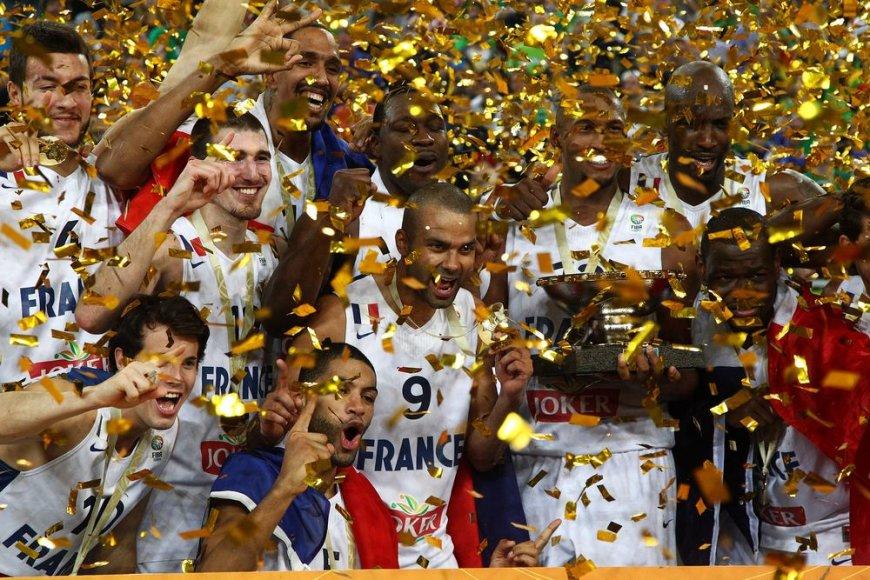 """""""Eurobasket 2013"""" čempionai – Prancūzijos krepšinio rinktinė"""
