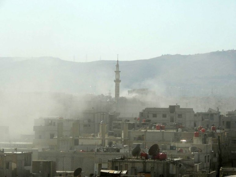 Damaskas dūmuose