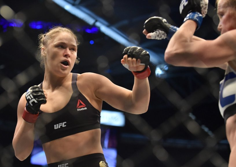 Ronda Rousey – Holly Holm