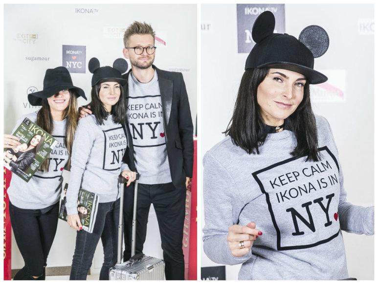 """""""Ikonos"""" komanda išvyko į Niujorką"""