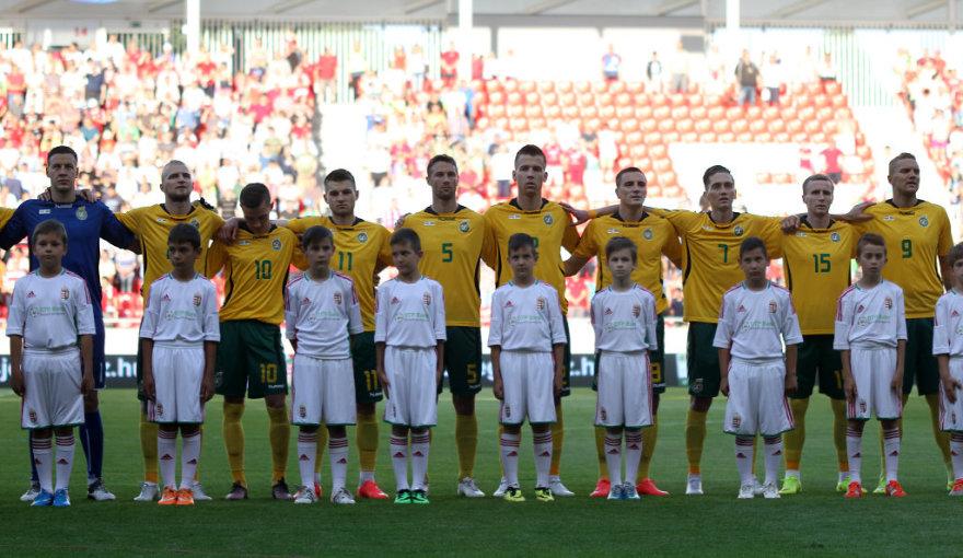 Futbolas: Vengrija - Lietuva