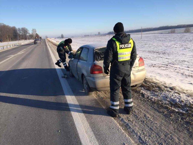 Policijos pagalba vairuotojai