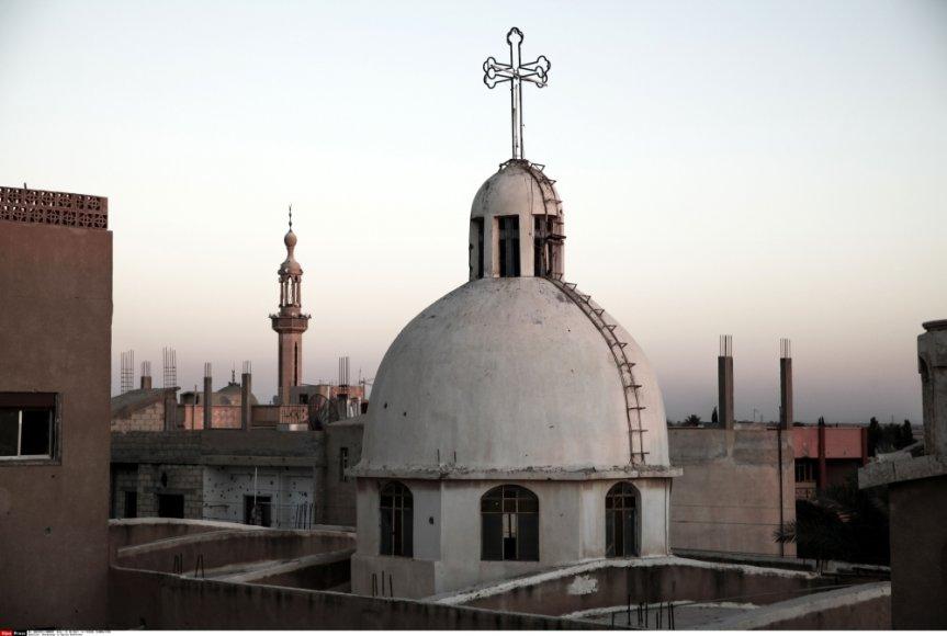 Krikščionys sudaro apie dešimtadalį Sirijos gyventojų