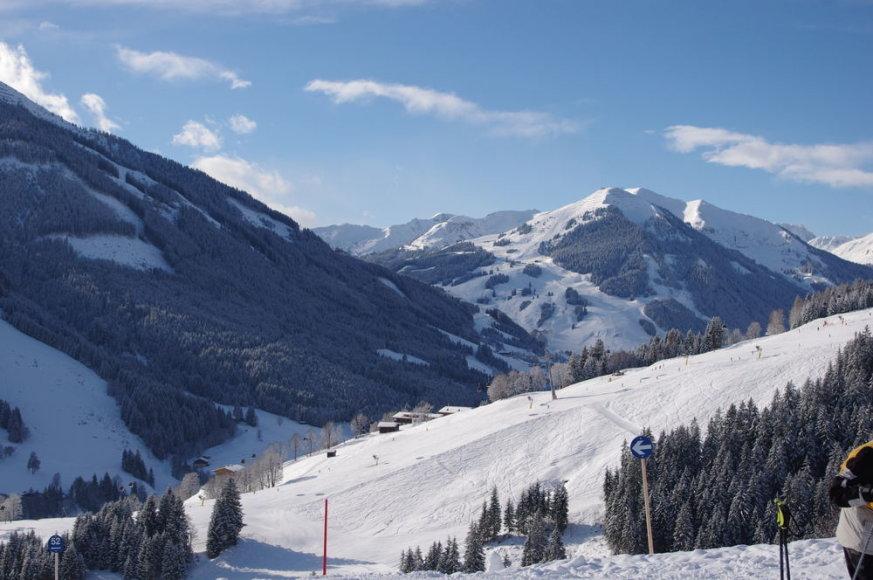 Slidinėjimas Austrijoje, Saalbacho-Leogango-Hintergleimo regione