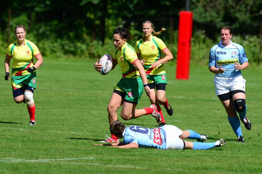 Europos moterų regbio-7 čempionato B diviziono turnyre – sėkmingas lietuvių žaidimas