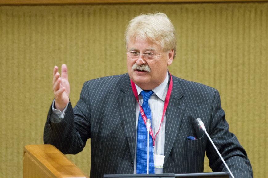 Europos Parlamento Užsienio reikalų komiteto pirmininkas Elmaras Brokas