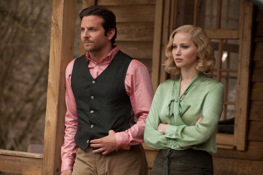 "Jennifer Lawrence ir Bradley Cooperis filme ""Serena"""