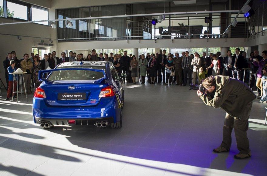 Najojo Subaru WRX STI pristatymas