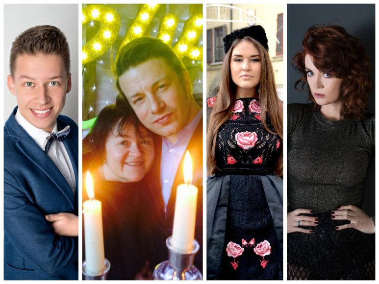 Rimvydas Širvinskas-Makalius, Dalia Ibelhauptaitė ir Jamie Oliveris, Marija Palaikytė ir Erica Jennings