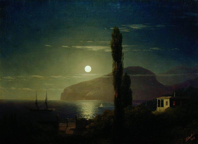 Ivano Aivazovskio tapytas Krymo peizažas