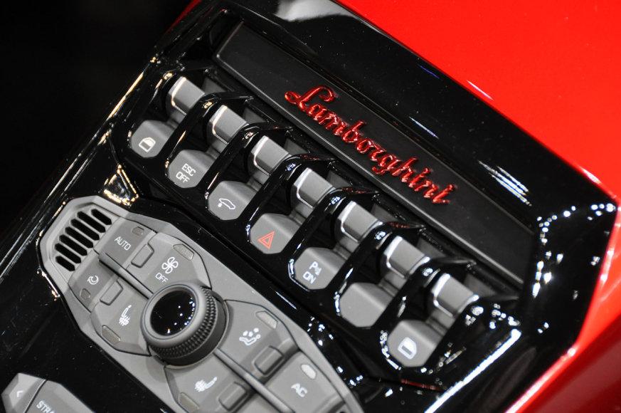 """Lamborghini Aventador"" mygtukai"