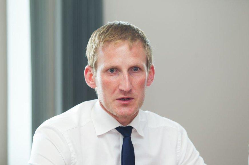 Aplinkos viceministras Linas Jonauskas