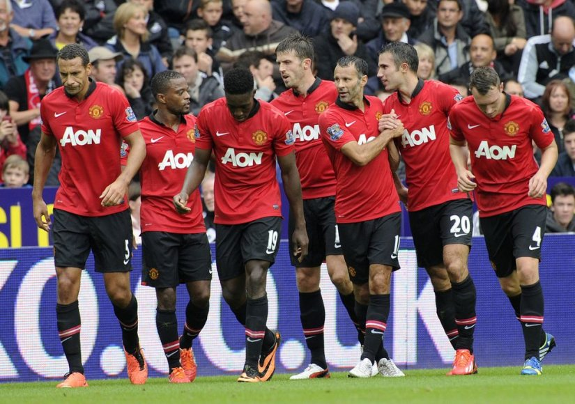 """Manchester United"" sezoną pradėjo pergale."