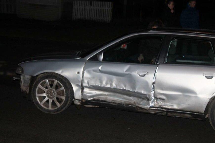 """Volkswagen"" ir ""Audi"" avarija"