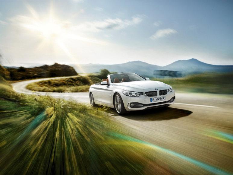 4 serijos BMW kabrioletas