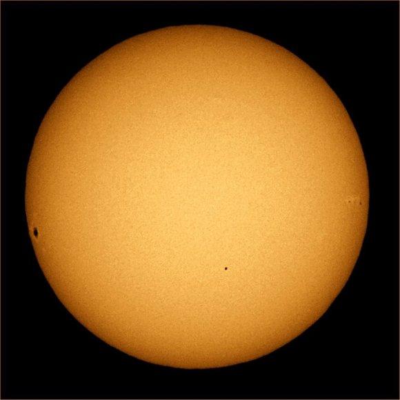 Merkurijaus planetos tranzitas priešais Saulę