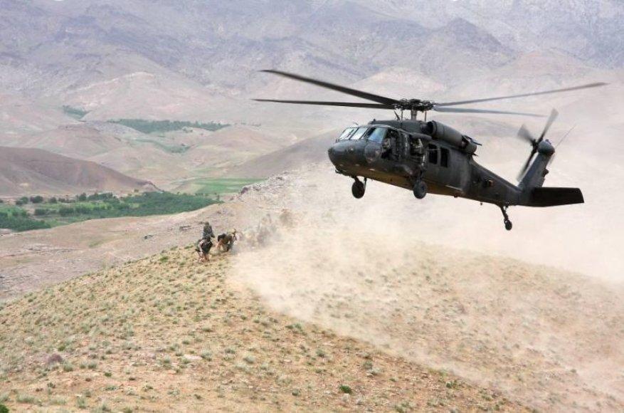 Karinis sraigtasparnis Afganistane