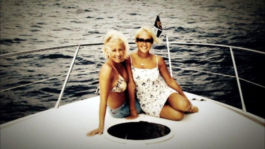 Oksana Pikul-Jasaitienė su mama