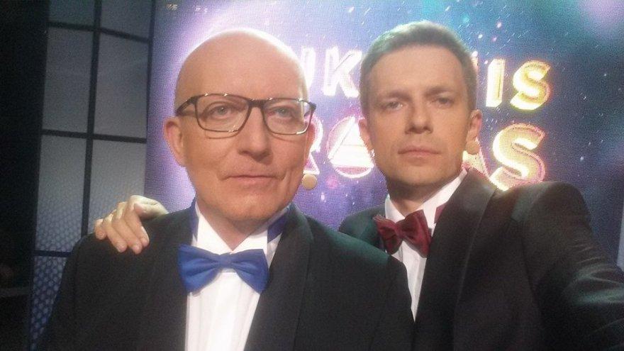 Arūnas Valinskas ir Andrius Tapinas