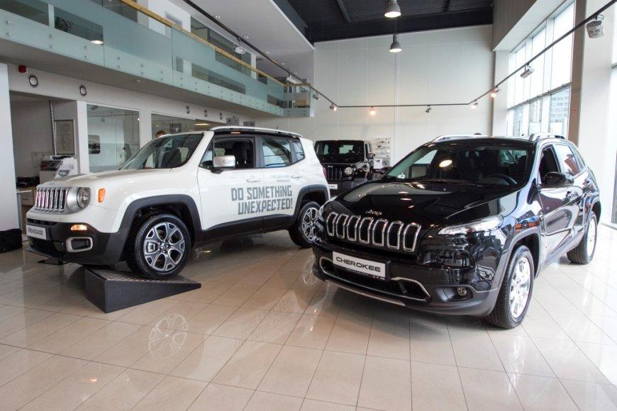 """""""Jeep Renegade"""" ir """"Jeep Cherokee"""" pristatymas Lietuvoje"""
