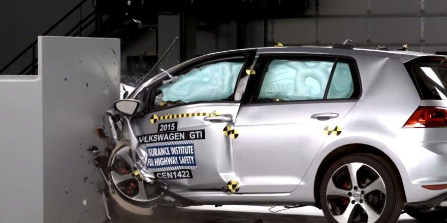 """Volkswagen Golf GTI"" saugumo bandymas"