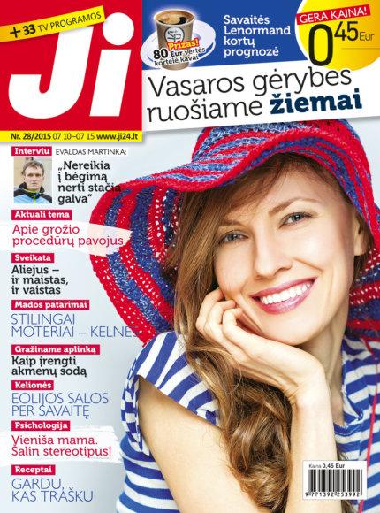 """Žurnalo """"Ji"""" viršelis (28 nr.)"""