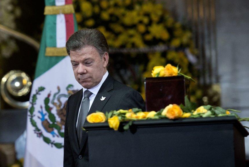 Kolumbijos prezidentas Juanas Manuelis Santosas