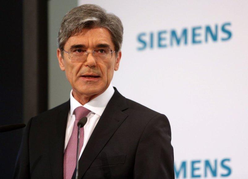 """""""Siemens"""" AG prezidentas ir vykdomasis direktorius Joe Kaeseris."""