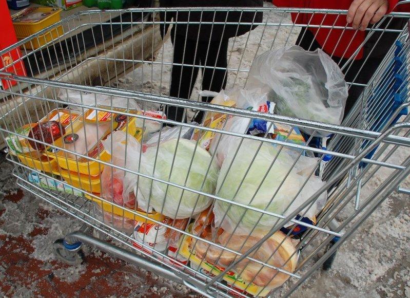 Suvalkuose įsigytos prekės
