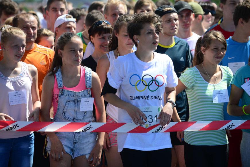 Olimpinė diena Vilniuje