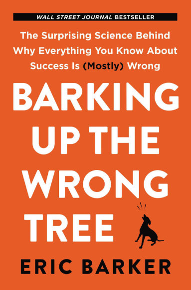 "Knyga ""Barking up the Wrong Tree"" (liet. atitikmuo – šuniui ant uodegos)"