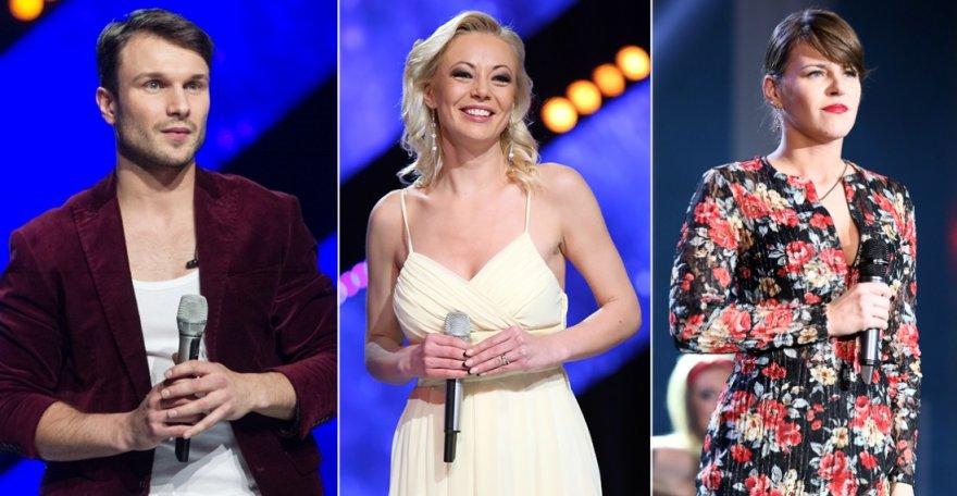 """""""Eurovizijos"""" atrankos finalininkai"""