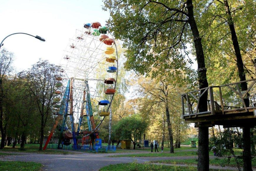 Planuojama sutvarkyti centrinį parka ir jo prieigas