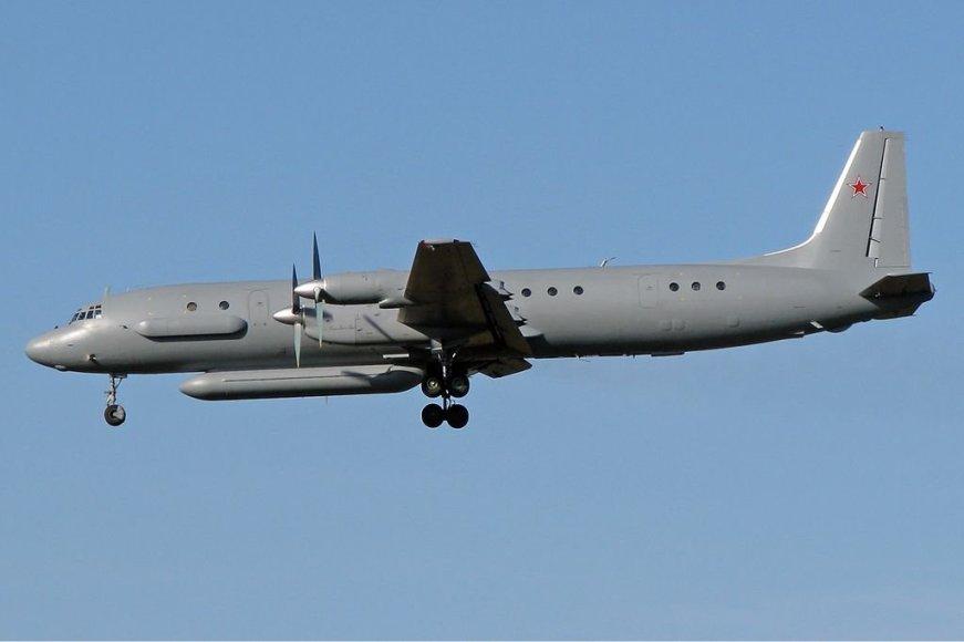 """Rusijos žvalgybos lėktuvas """"Il-20M"""""""