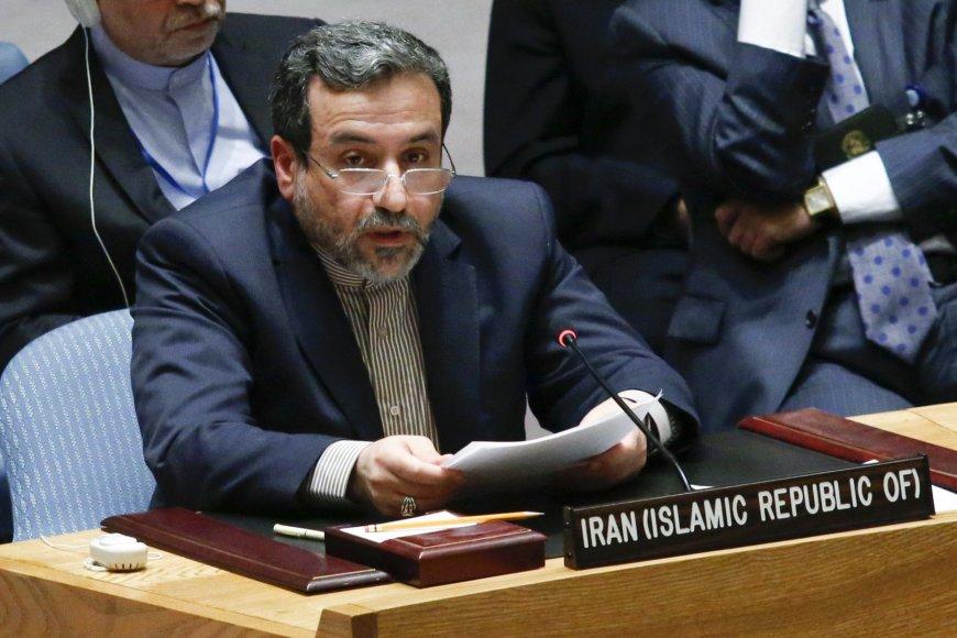 Irano užsienio reikalų viceministras Abbasas Araghchis