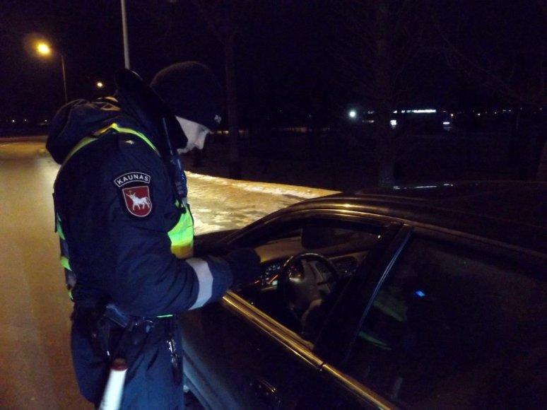 Policijos reidas Kėdainiuose