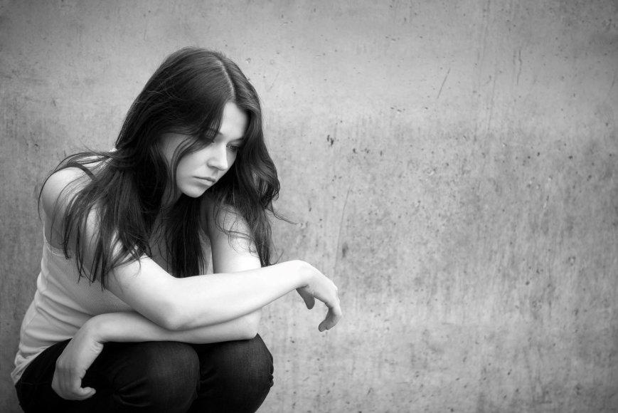 Liūdna moteris