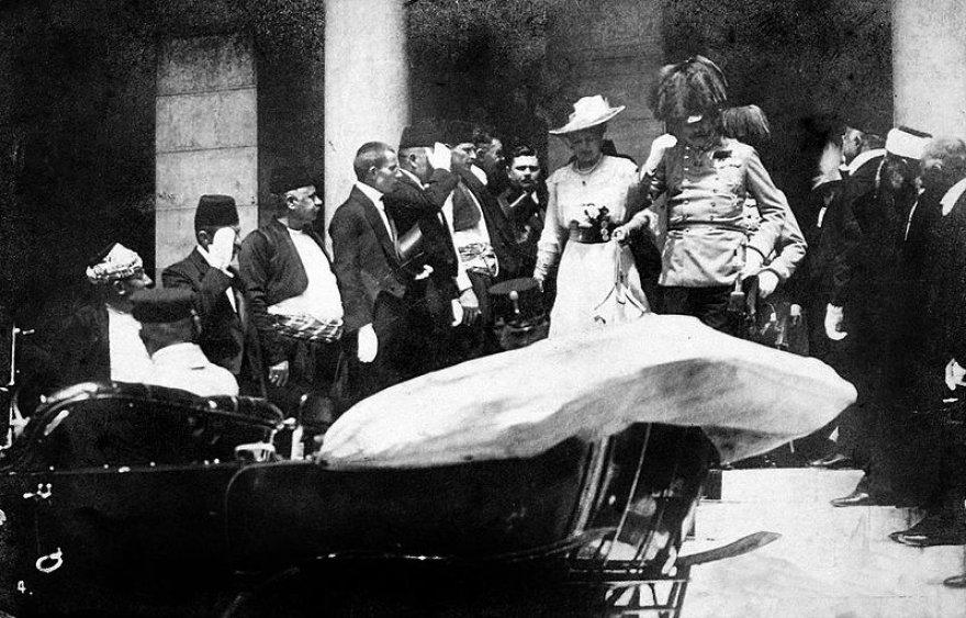 Franzo Ferdinando apsilankymas Sarajeve