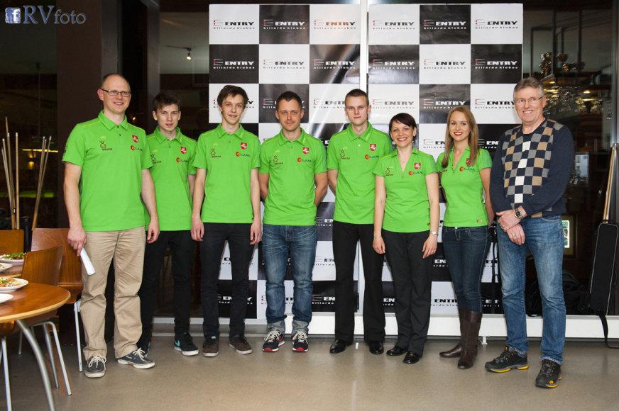 Lietuvos pulo rinktinė išvyko į Europos pirmenybes