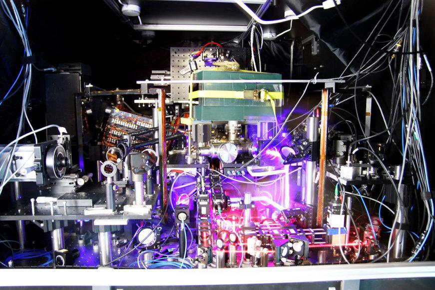 Tiksliausias pasaulyje atominis laikrodis