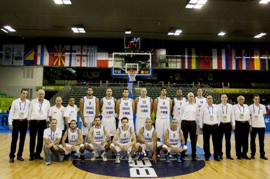 Izraelio krepšinio rinktinė