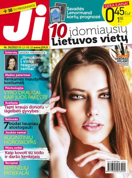 """Žurnalo """"Ji"""" viršelis (24 nr.)"""