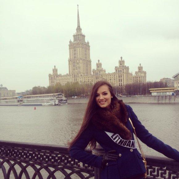 Simona Burbaitė Maskvoje