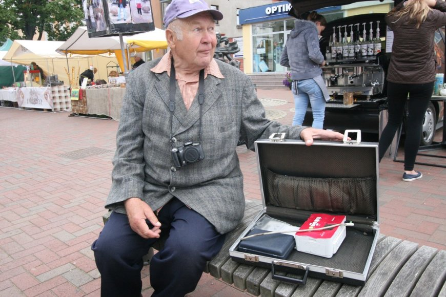 Šiaulietis gatvės fotografas Klemensas Taurinskas