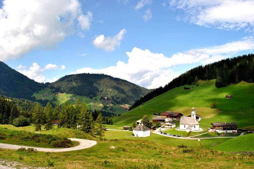 Kelionės po Austrija. B.Kaziliūnaitės nuotr.