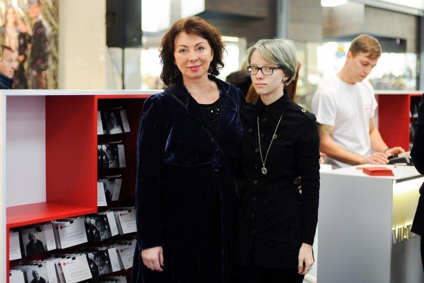 Daiva Tamošiūnaitė su dukra