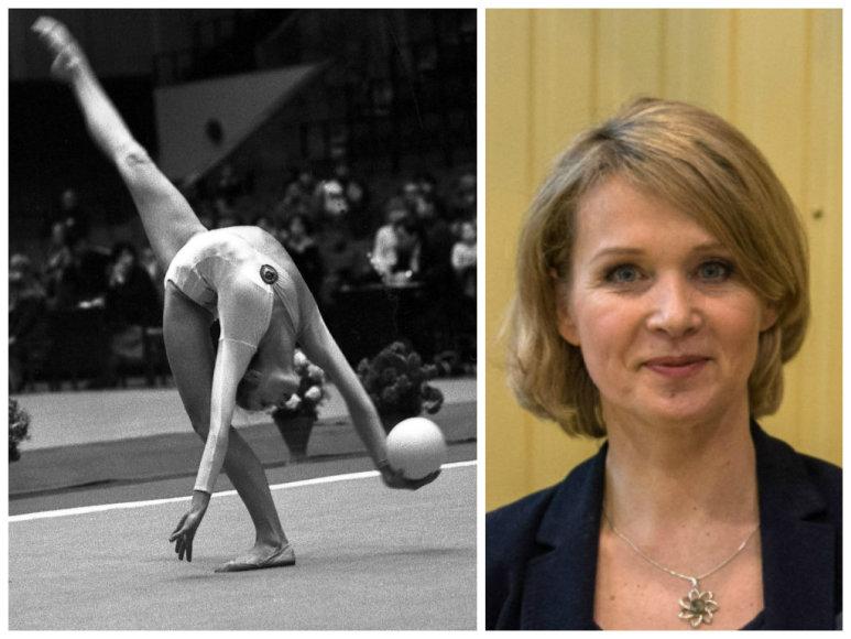 Dalia Kutkaitė (1982 m. ir 2015 m.)