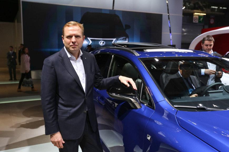 """""""Lexus Europe"""" vadovas Alainas Uyttenhovenas"""