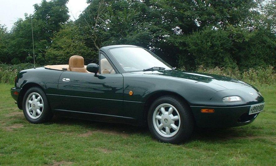 """""""Mazda MX-5"""" kabrioletas"""