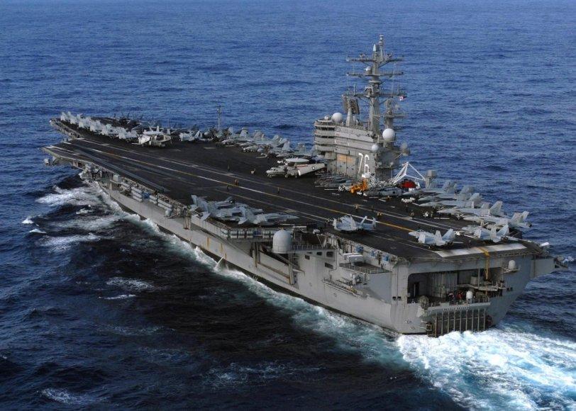 """Lėktuvnešis """"USS Ronald Reagan"""""""